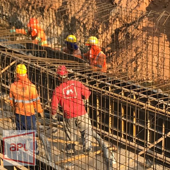Fornecimento e lançamento de concreto