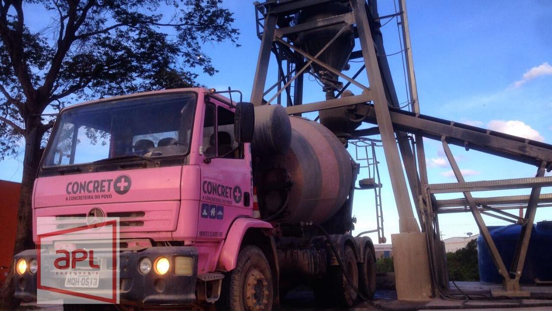 Produção e entrega de concreto Usinado – Dosado em Central